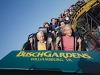 A classic coaster celebrating its 25th anniversary, Busch Gardens Williamsburg's Loch Ness Monster features a 114-foot drop and two interlocking loops, which literally turn riders upside-down.  ?2003 Busch Entertainment Corp.